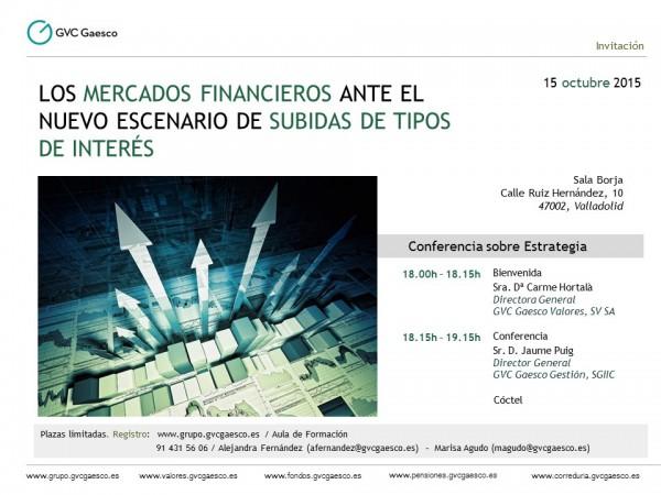 15 Oct - Valladolid