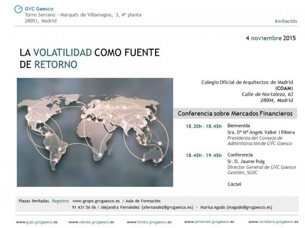 4 noviembre - Madrid
