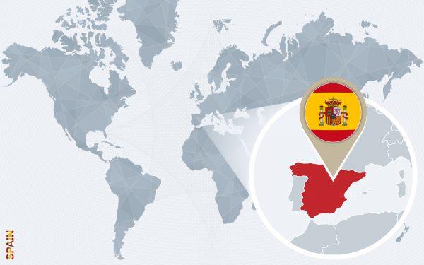 Spain Map Blog