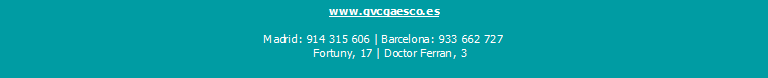 GVC Gaesco dirección